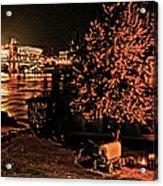 Riverfront 1865-2003 Tall Stacks  By Randall Branham Acrylic Print