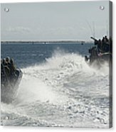 Riverine Command Boats And Security Acrylic Print
