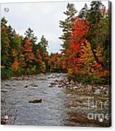 Rivers Run Through It..fall Brilliance Acrylic Print