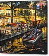 Riverwalk Escape Acrylic Print