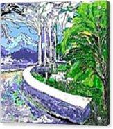 Road End Acrylic Print