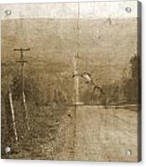 Road Not Traveled  Acrylic Print