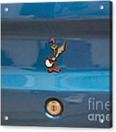 Road Runner Bird Emblem Acrylic Print