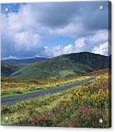 Road Through A Mountain Range, County Acrylic Print