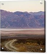 Road Through Death Valley Acrylic Print