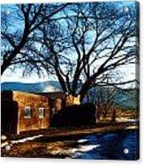 Road To Mescalero Acrylic Print