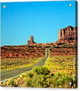 Road To Paradise Acrylic Print