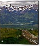 Road To The Sangre De Cristos Acrylic Print