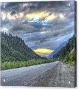 Roadside Sunset Acrylic Print