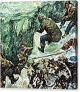 Roald Amundsen's Journey To The South Pole Acrylic Print
