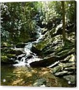 Roaring Creek Falls - II Acrylic Print by Joel Deutsch