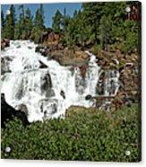 Roaring Falls Glen Alpine Falls Acrylic Print