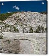 Roaring Mountain Panorama Acrylic Print