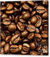 Roasted Coffee Beans Acrylic Print