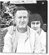 Robert And Theresa Lewis Acrylic Print