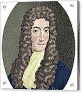 Robert Boyle, British Chemist Acrylic Print