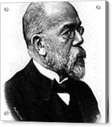 Robert Koch, German Microbiologist Acrylic Print