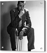 Robert Montgomery, Mgm Portrait Acrylic Print