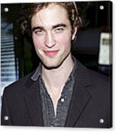 Robert Pattinson At Arrivals For Harry Acrylic Print