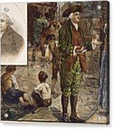 Robert Raikes (1735-1811) Acrylic Print by Granger