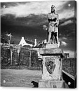 robert the bruce statue at stirling castle Scotland UK Acrylic Print
