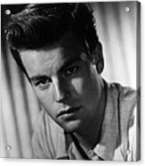 Robert Wagner, 1950s Acrylic Print by Everett