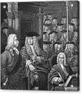 Robert Walpole (1676-1745) Acrylic Print