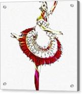 Robot Ballerina Acrylic Print