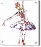 Robot Diva Acrylic Print
