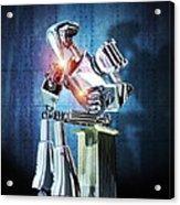 Robot Intelligence Acrylic Print