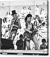 Rock And Roll At Day On The Green 1975 Acrylic Print