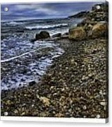 Rock Beach Acrylic Print