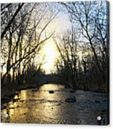 Rock Creek Near Gettysburg Acrylic Print