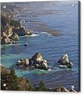 Rock Formations Along The Coast Big Sur Acrylic Print