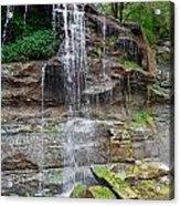Rock Glen Falls 9 Acrylic Print