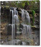 Rock Glen Falls Acrylic Print