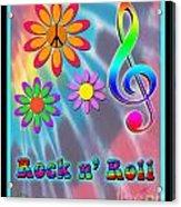Rock Music Poster Acrylic Print