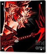 Rock N Bleed Acrylic Print