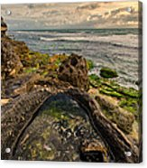Rock Pool View Acrylic Print