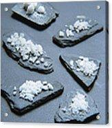 Rock Salt Acrylic Print
