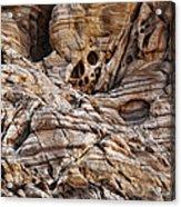 Rock Texture Acrylic Print by Kelley King