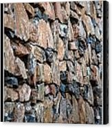 Rock Wall Acrylic Print by Miguel Capelo