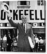 Rockefeller Family. Future Governor Acrylic Print by Everett