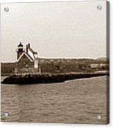 Rockland Breakwater Lighthouse Acrylic Print
