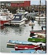 Rockport Harbor Acrylic Print