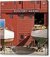 Rockport Marine Acrylic Print
