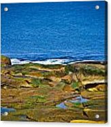Rockport Shoreline Acrylic Print