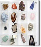 Rocks And Minerals Acrylic Print