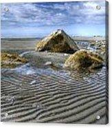 Rocks And Sand Acrylic Print