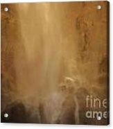 Rocks In The Mist Acrylic Print